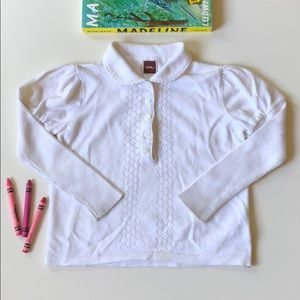 Tea Collection | White Collared Blouse | 3T